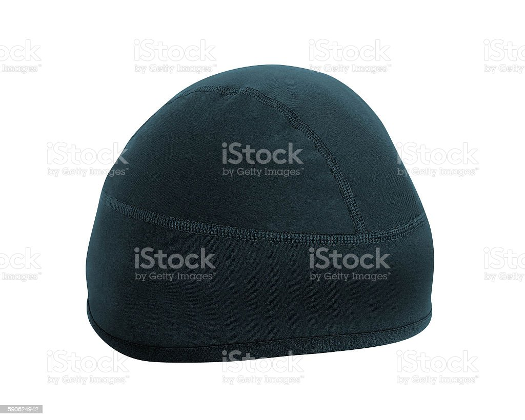 winter hat isolated stock photo