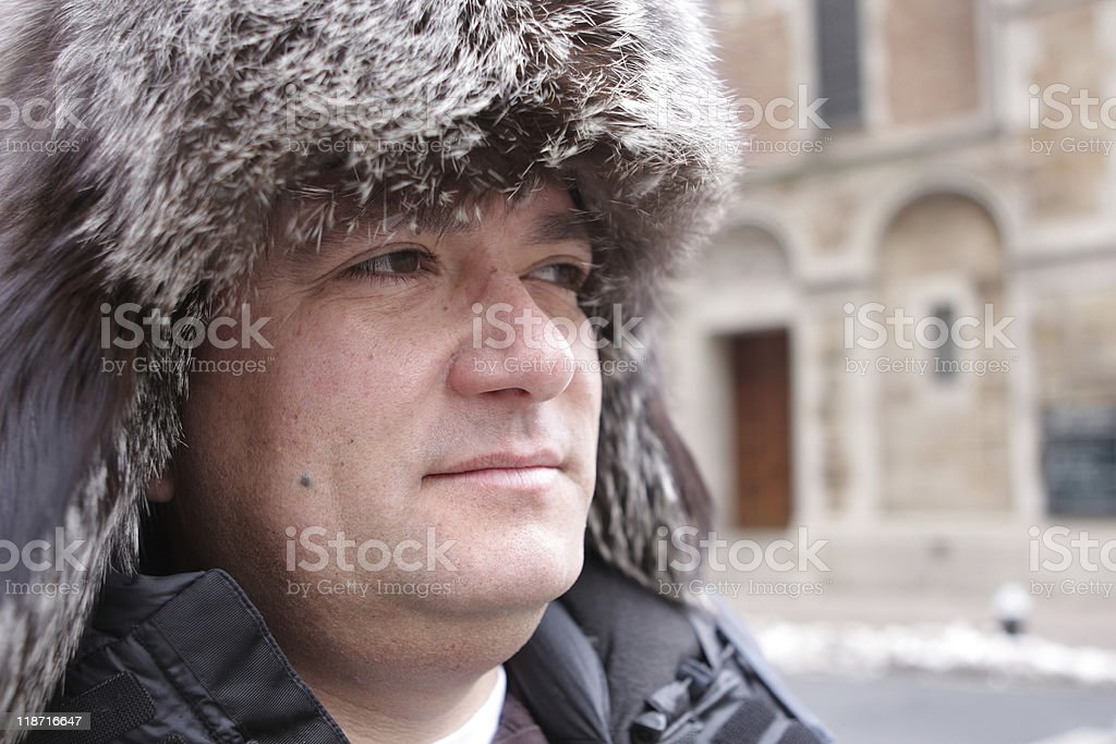 Winter hat royalty-free stock photo