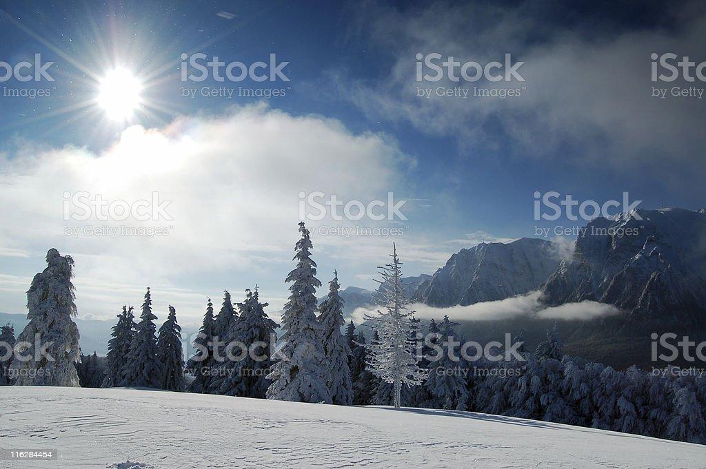 Winter heaven royalty-free stock photo