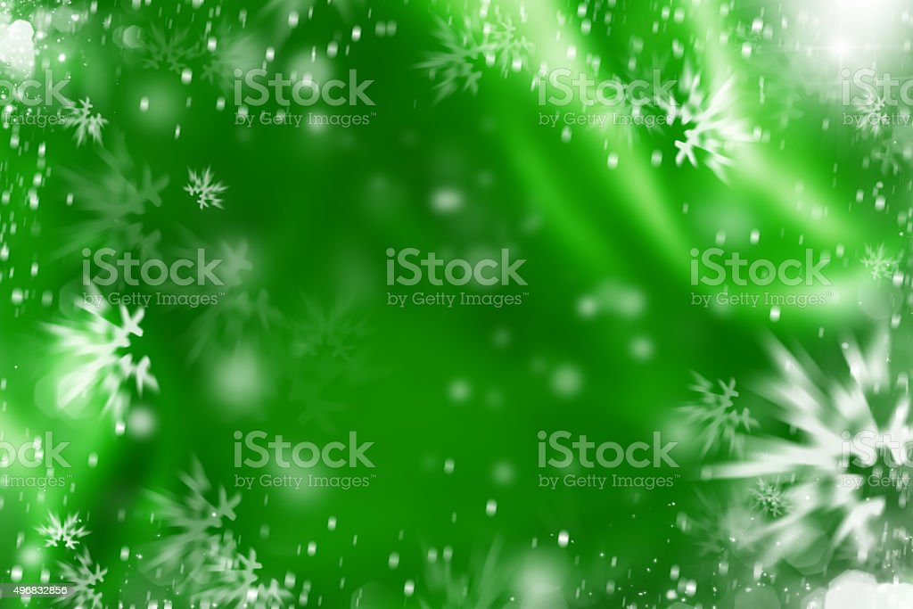 Winter holiday gift card background stock photo