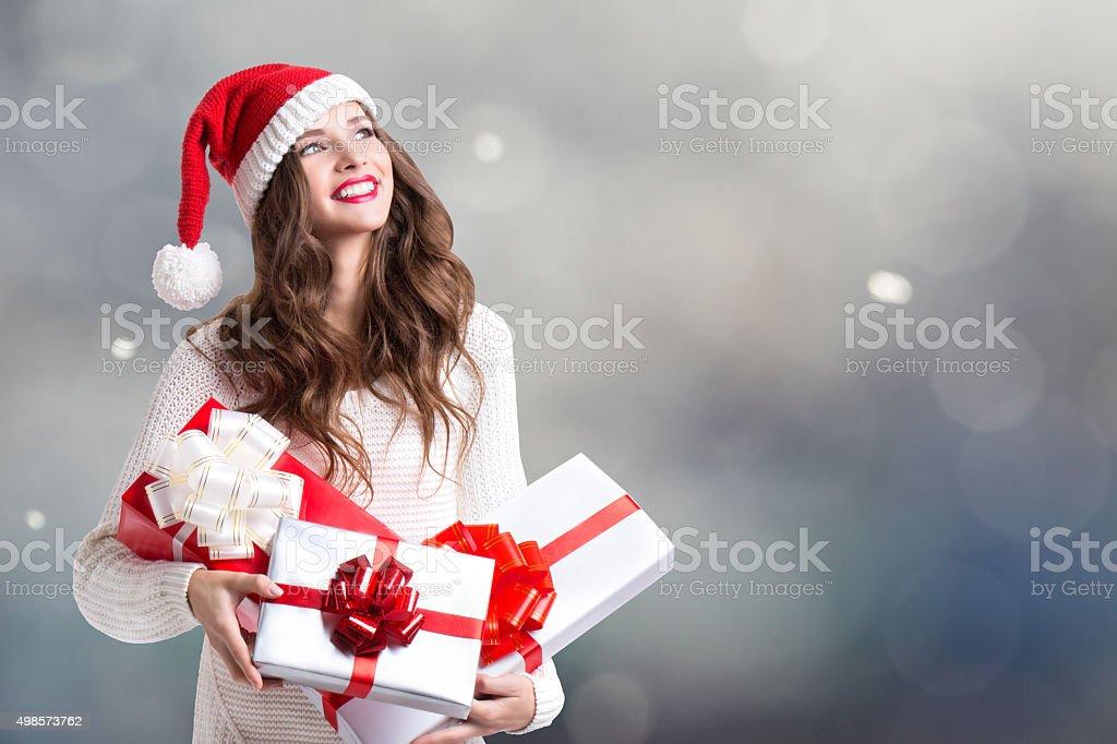 Winter holidays. stock photo