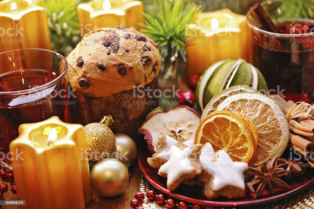 Winter hot drink royalty-free stock photo