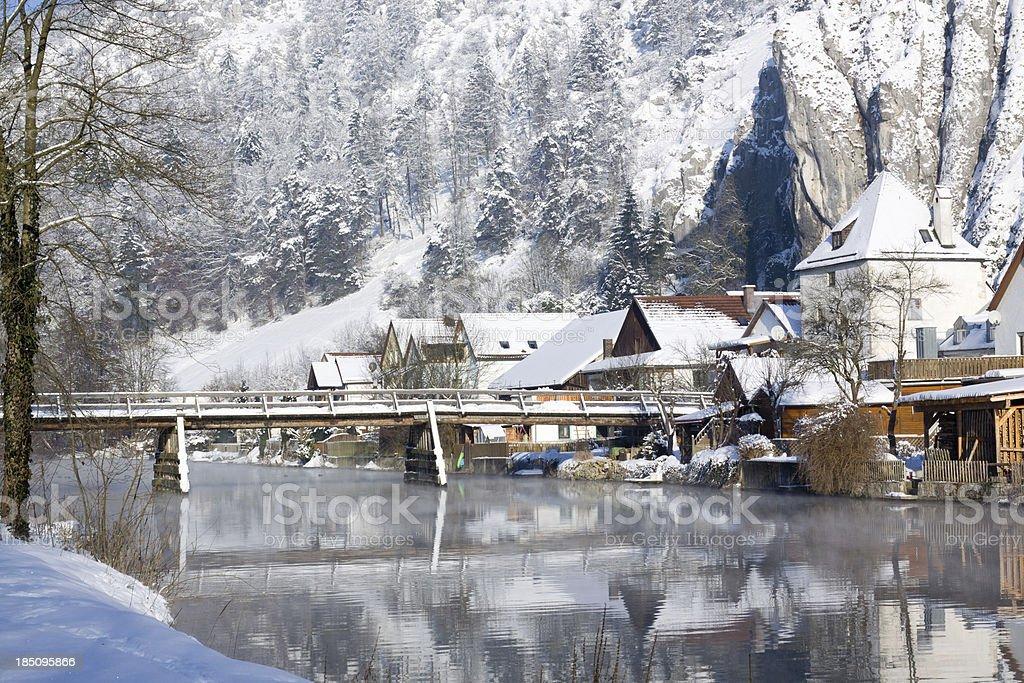 Winter Idyll stock photo
