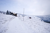 Winter in Karkonosze Mountains