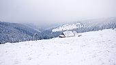 Winter in Karkonosze Mountains