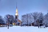 Winter in Newport, Rhode Island