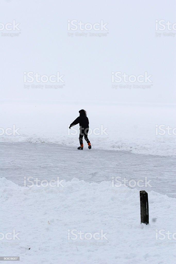 winter in scandinavia royalty-free stock photo