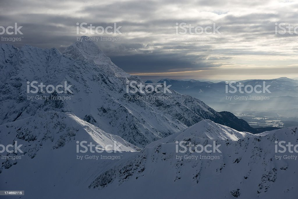 Winter in Tatra Mountains.Poland. Great Details. See full size image! stock photo