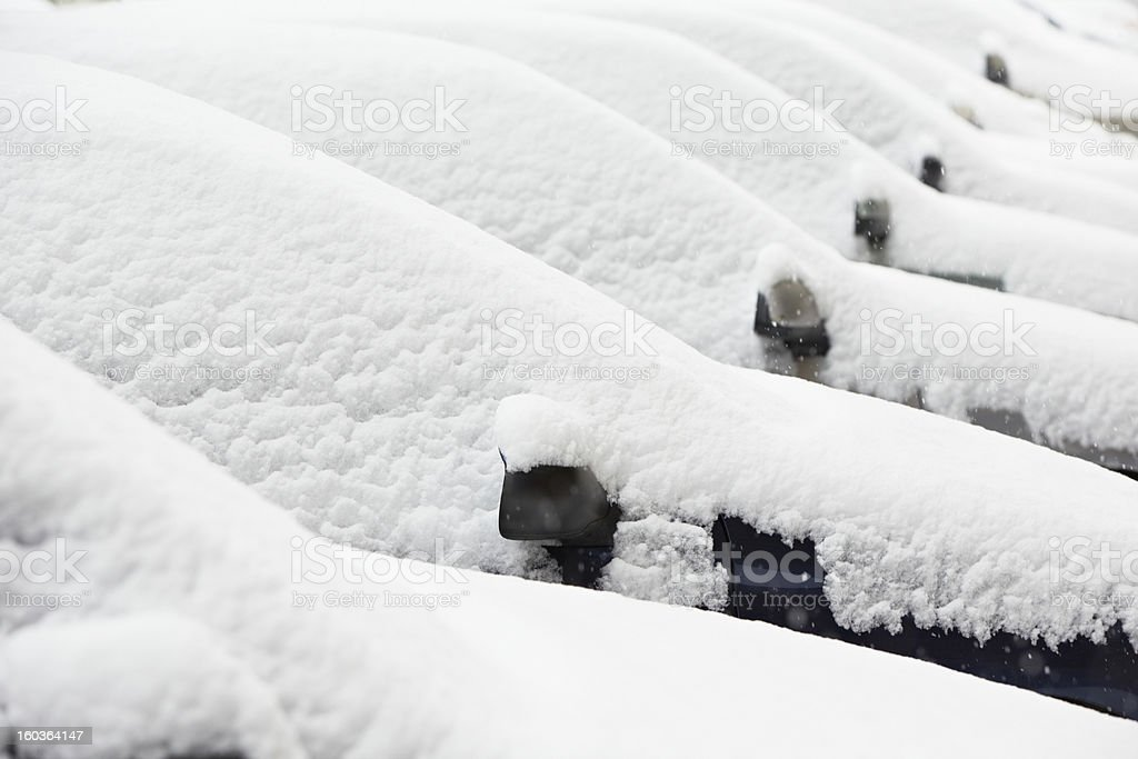 Winter in the city royalty-free stock photo