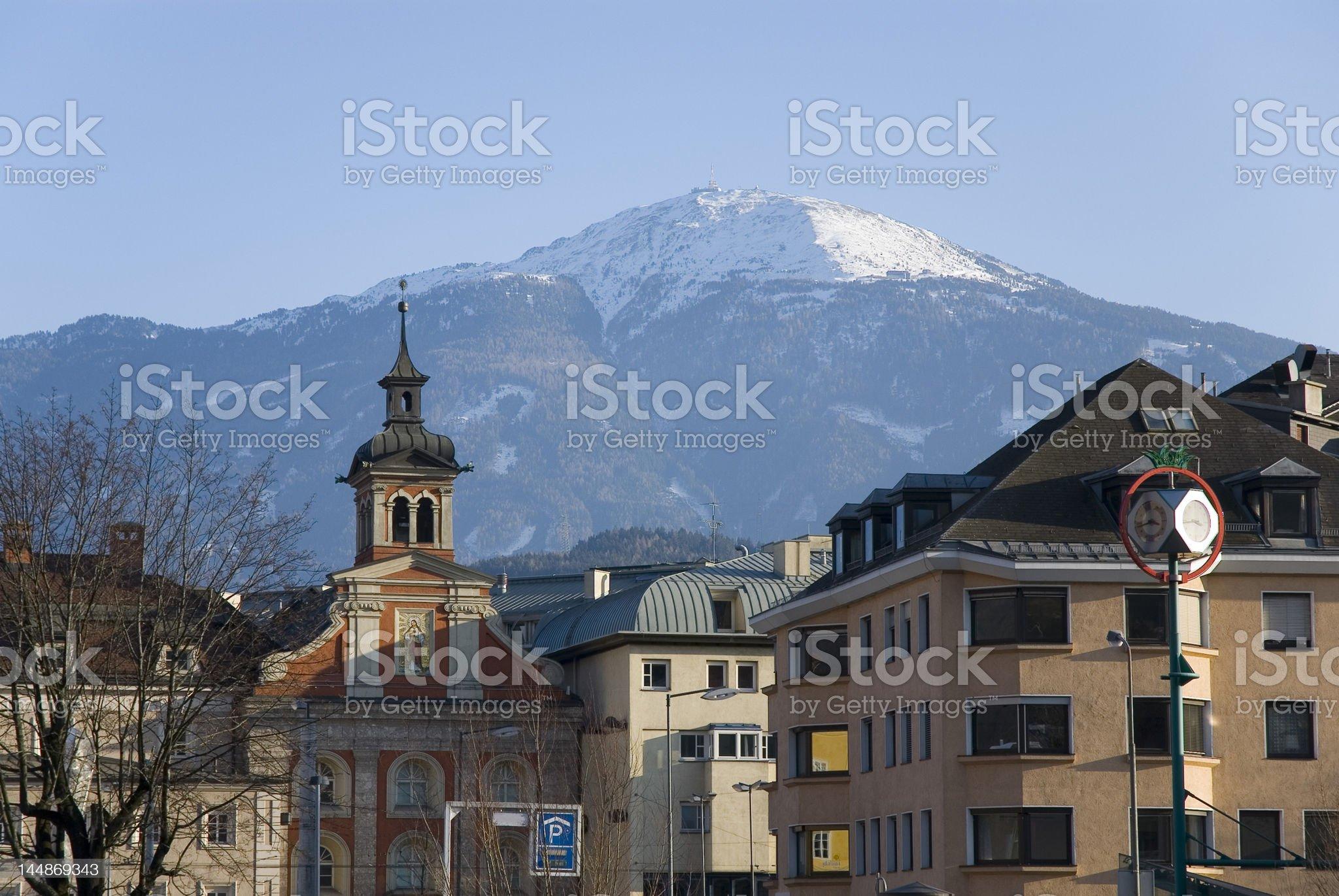 Winter Innsbruck royalty-free stock photo