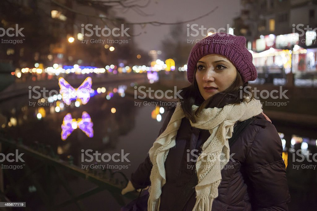 Winter is comming. royalty-free stock photo