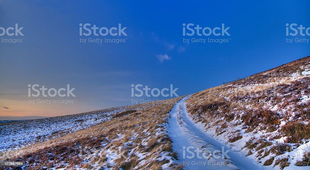 Winter Journey royalty-free stock photo