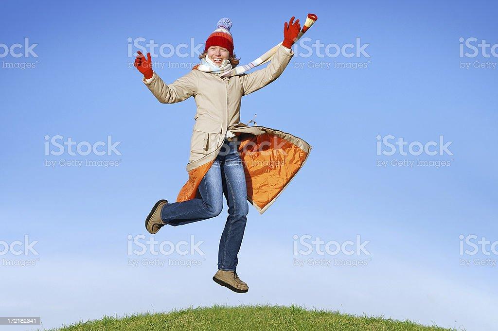 Winter joy [1] royalty-free stock photo