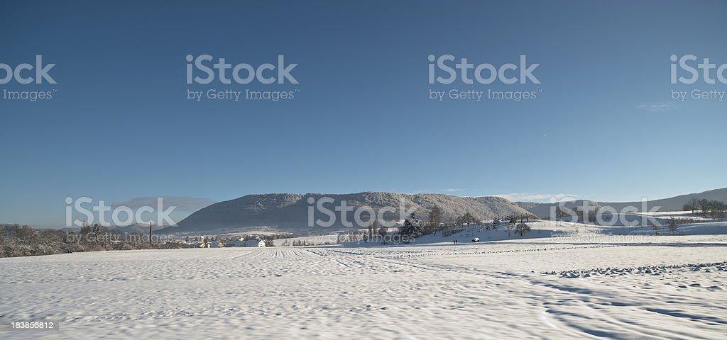 Winter Landsape stock photo