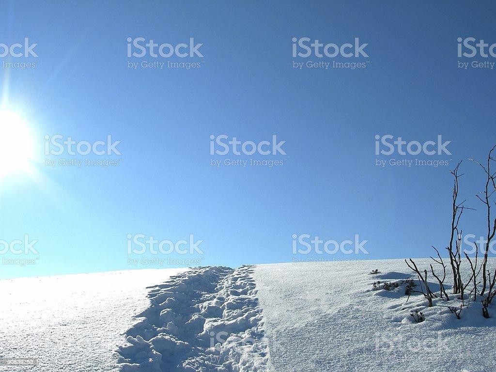 Winter Landscape 03 royalty-free stock photo
