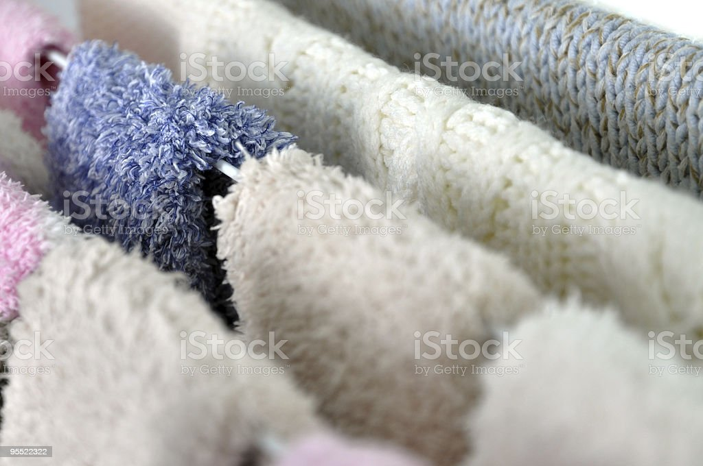 Winter Laundry royalty-free stock photo