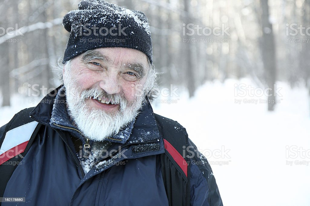 winter leisure royalty-free stock photo
