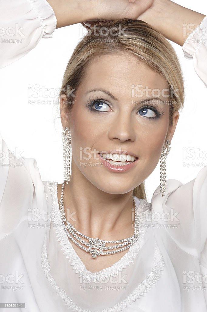 winter, luxury woman royalty-free stock photo