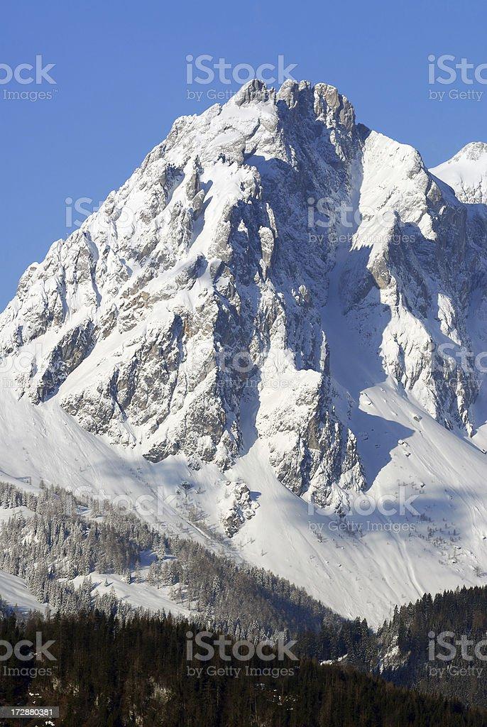 Winter Massif stock photo