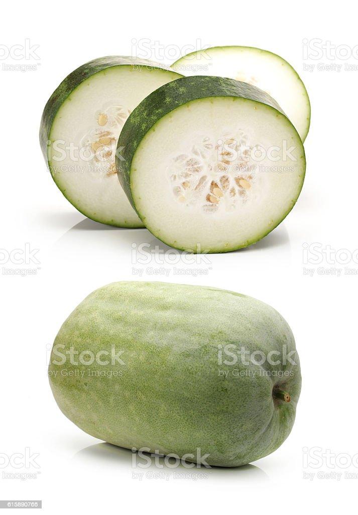 Winter melon stock photo