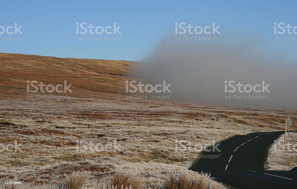 Winter Mist stock photo