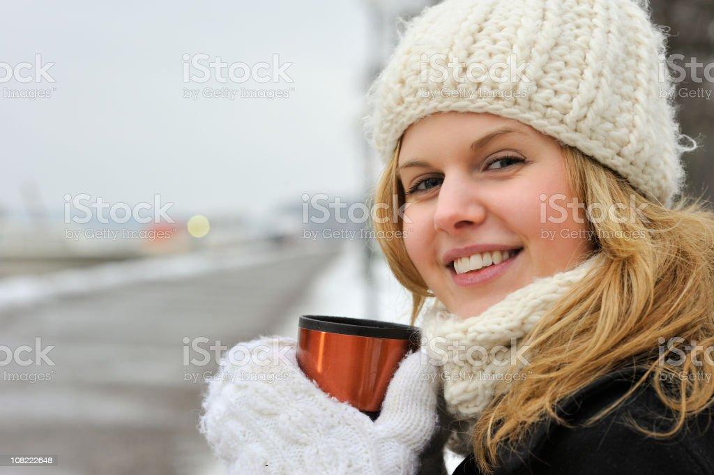 Winter morning royalty-free stock photo