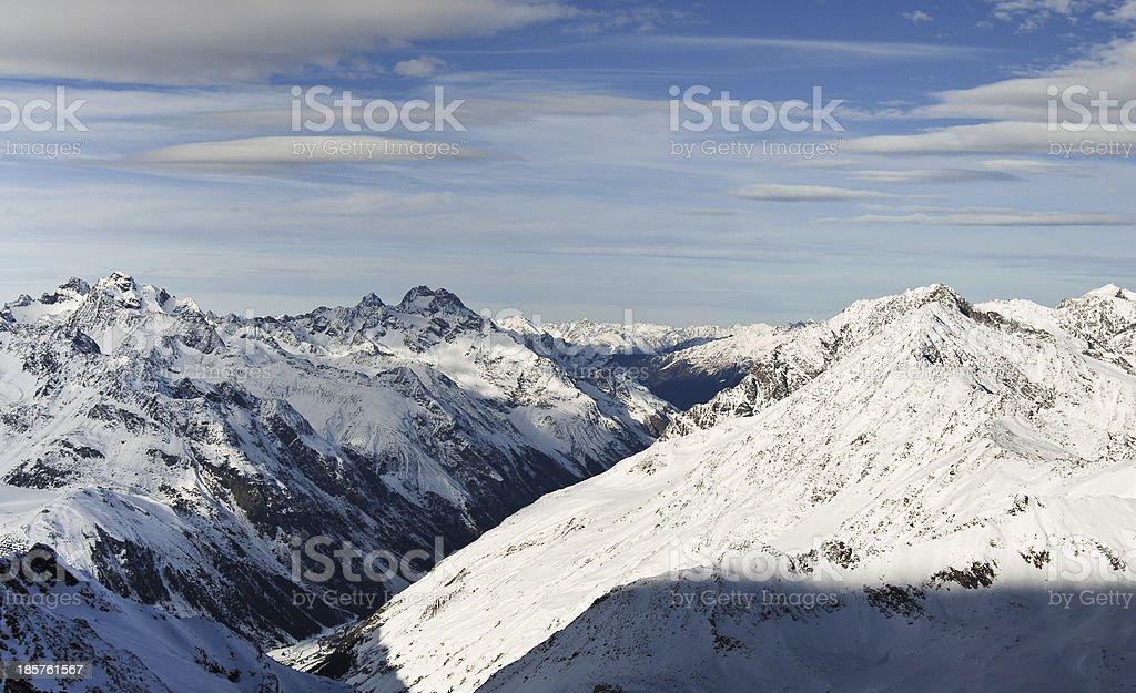 Winter mountain in Austria royalty-free stock photo