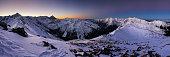 Winter mountain in Poland, Kasprowy