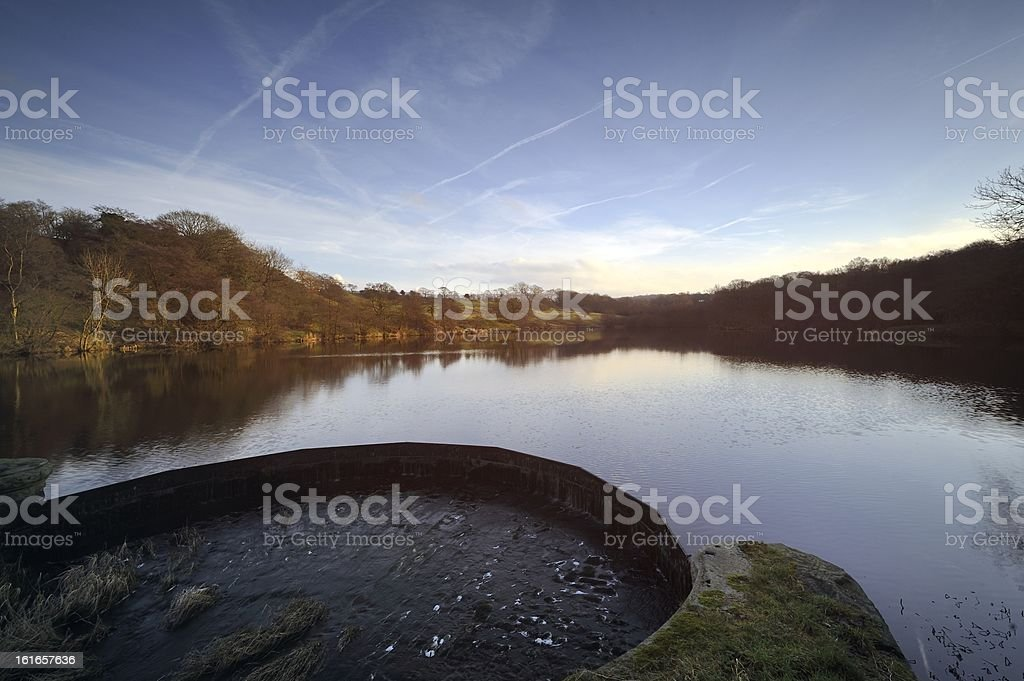 Winter on the Lake royalty-free stock photo