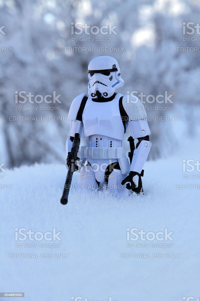 Winter Outpost stock photo