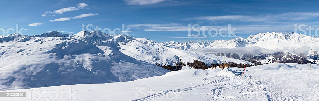 Winter Panorama (XXXL) royalty-free stock photo