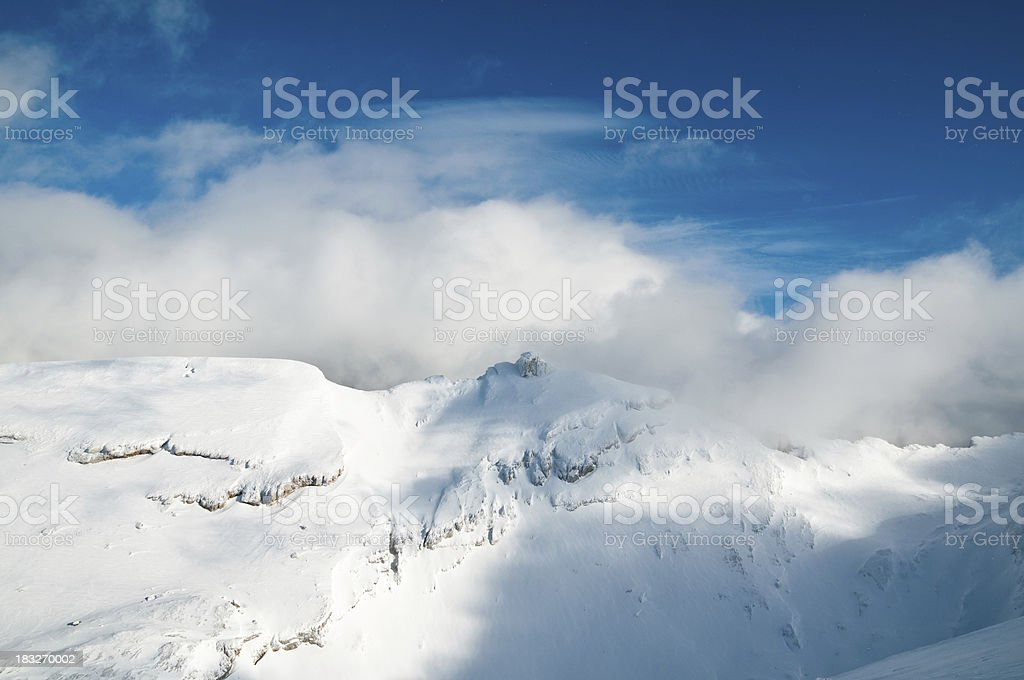 Winter panorama royalty-free stock photo