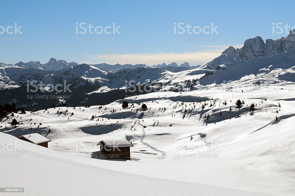 Winter Paradise royalty-free stock photo