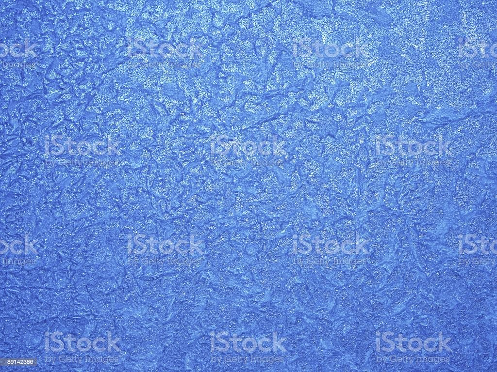 Winter patterns on glass royalty-free stock photo
