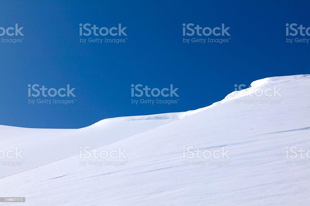 Winter perfection stock photo