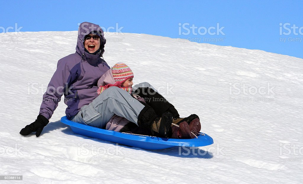 Winter pleasur royalty-free stock photo
