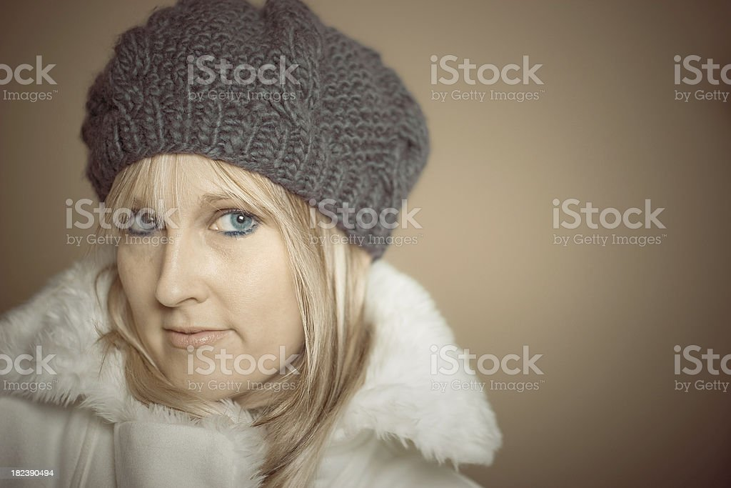 Winter portrait 1 royalty-free stock photo