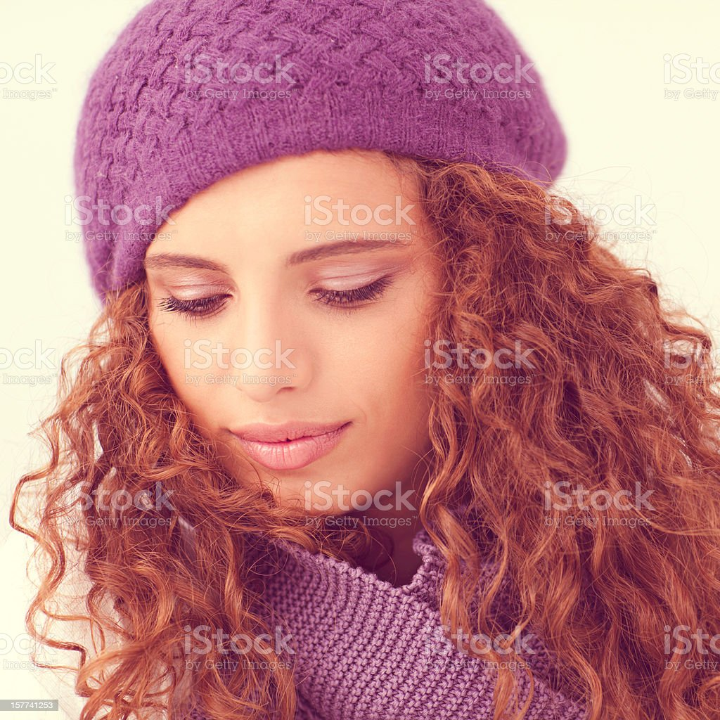 Winter Portrait royalty-free stock photo