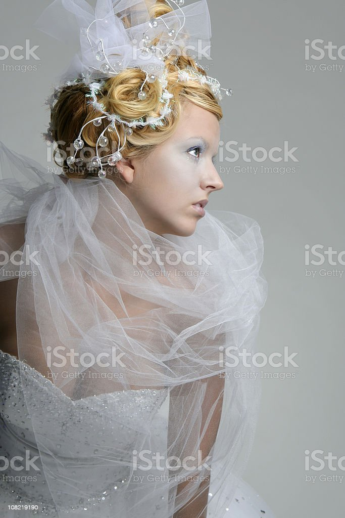 Winter Princess royalty-free stock photo