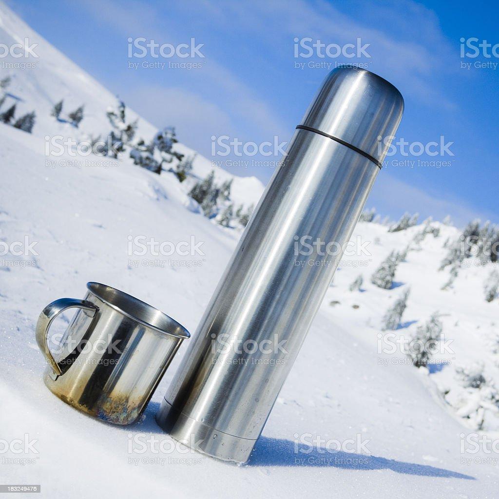 winter refreshment royalty-free stock photo