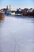 Winter. River. Bila Tserkva.
