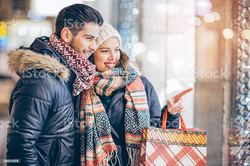 Winter sales stock photo