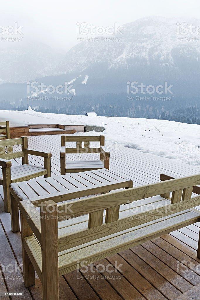 Winter Scene. Color Image royalty-free stock photo