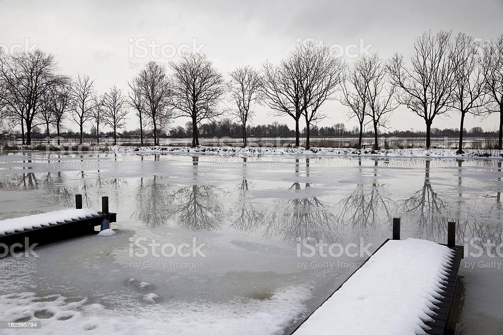 Winter scenery # 2 XXXL royalty-free stock photo