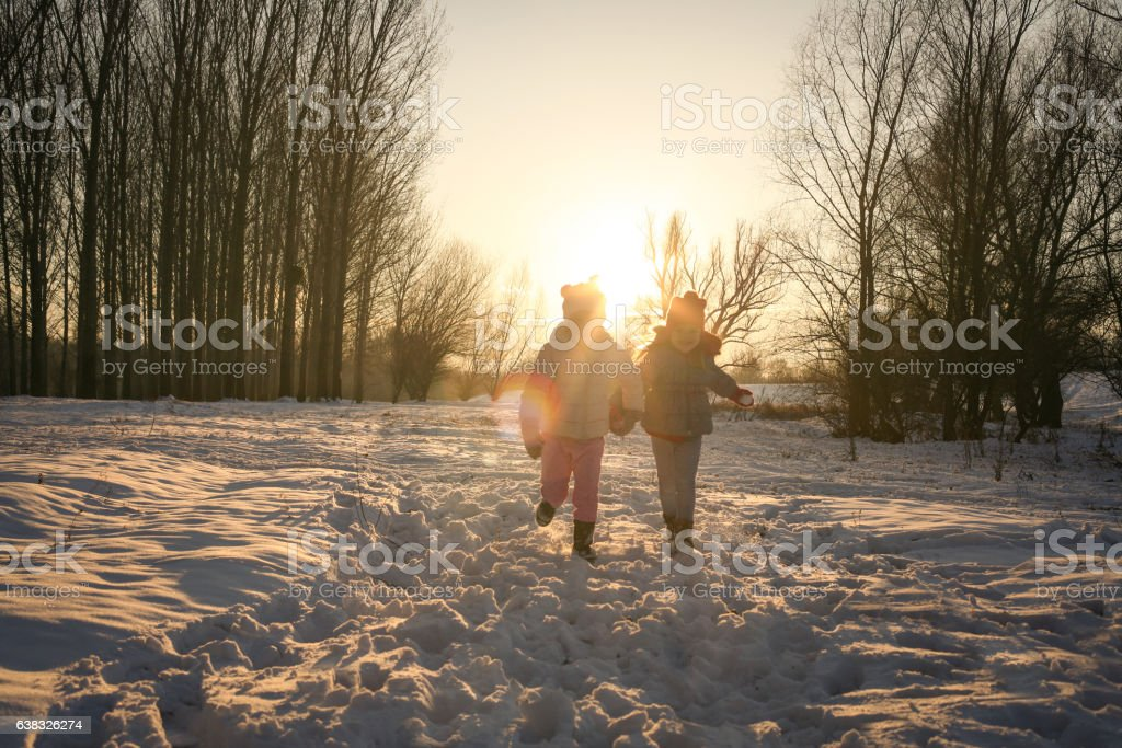 Image result for images of people playing in winter season