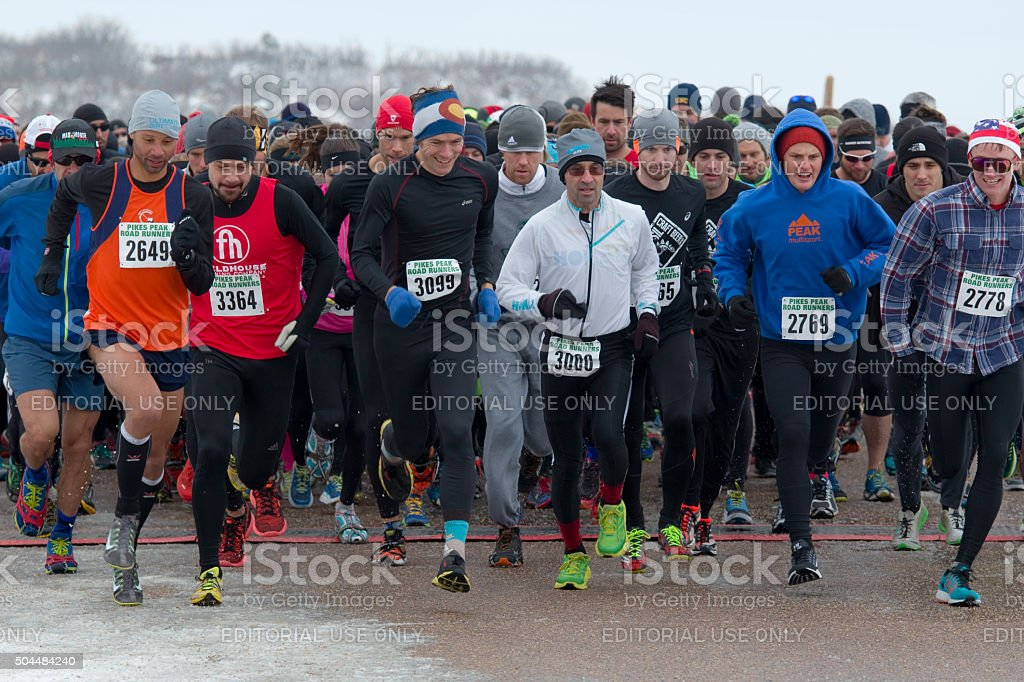 PPRR 2016 Winter Series I Race stock photo