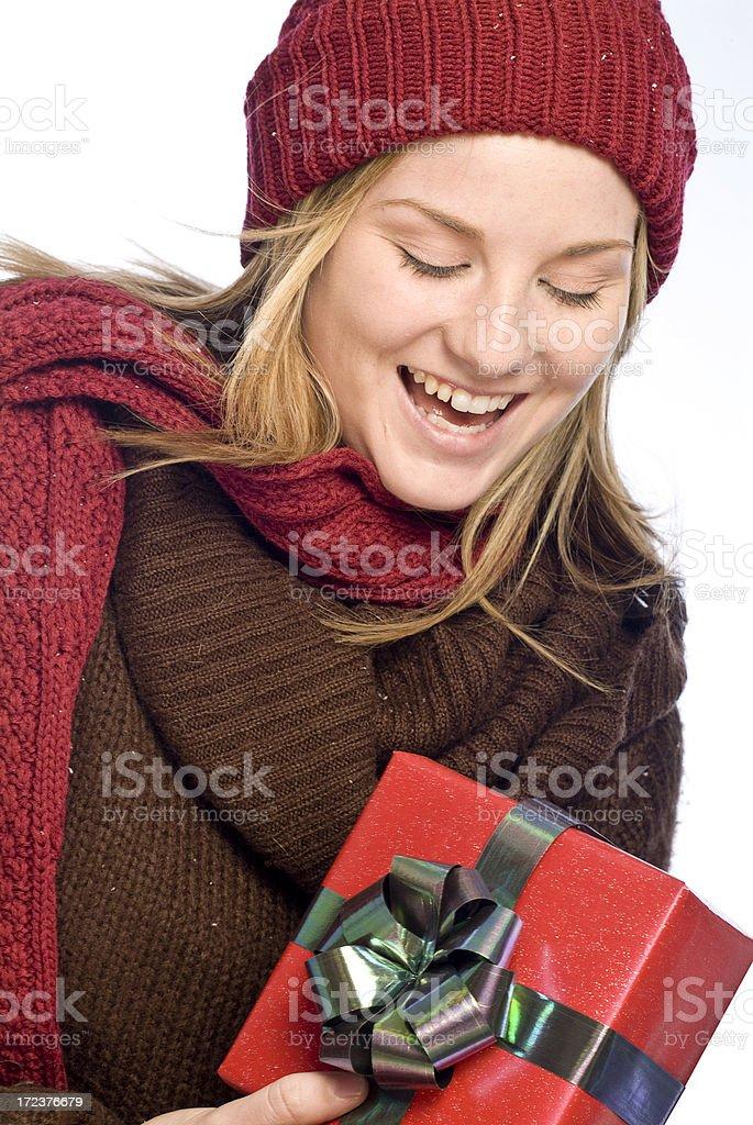Winter Shopping royalty-free stock photo