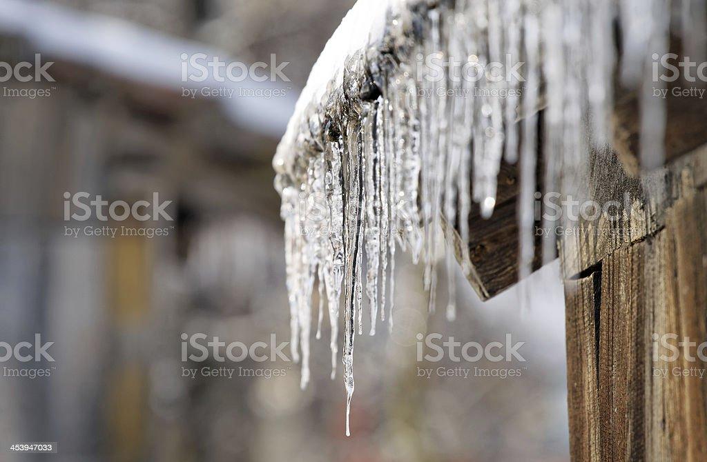 winter sign stock photo