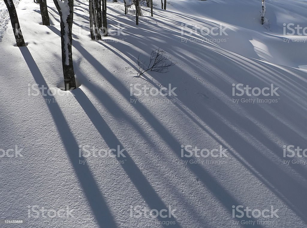 winter snow background royalty-free stock photo