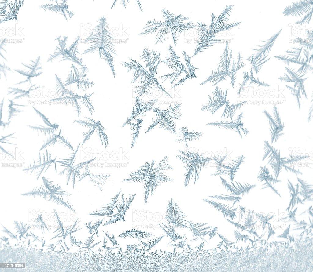 Winter Snow Crystal Dance royalty-free stock photo